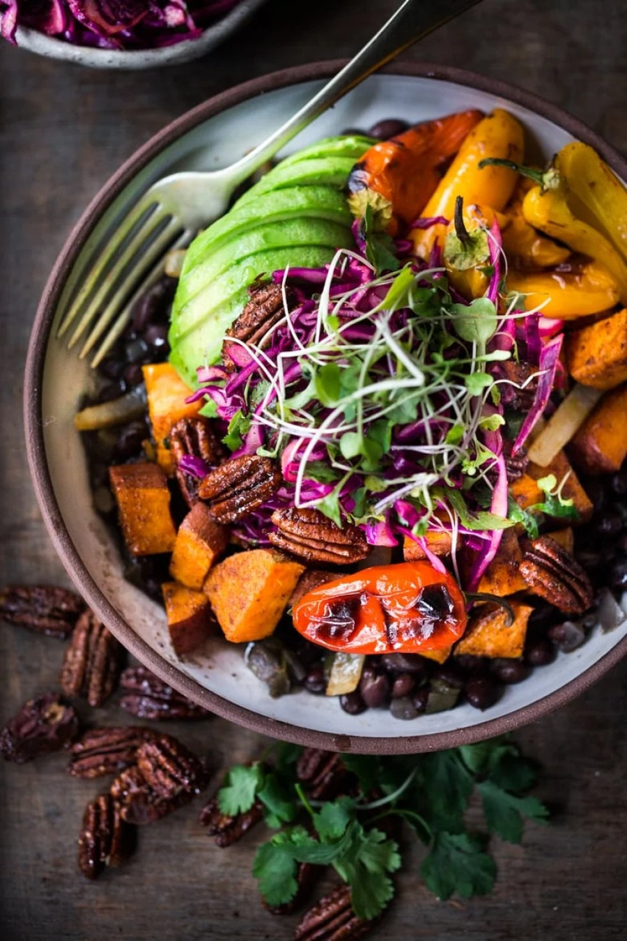 Spicy Mexican Oaxacan Bowl