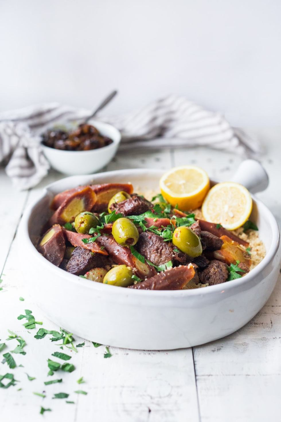 Instant Pot Lamb Tagine
