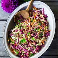 Easy Crunchy Asian Slaw