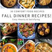 30 Comfort Food Recipes for Fall