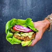 Chimichurri Poblano Turkey Burger!
