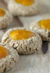 Persimmon Thumbprint Cookies | chewy + spiced + vibrant