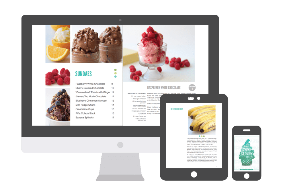 Banana Ice Cream Ebook