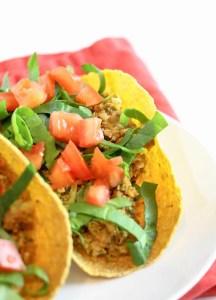Secretly Cruciferous Crunchy Tacos