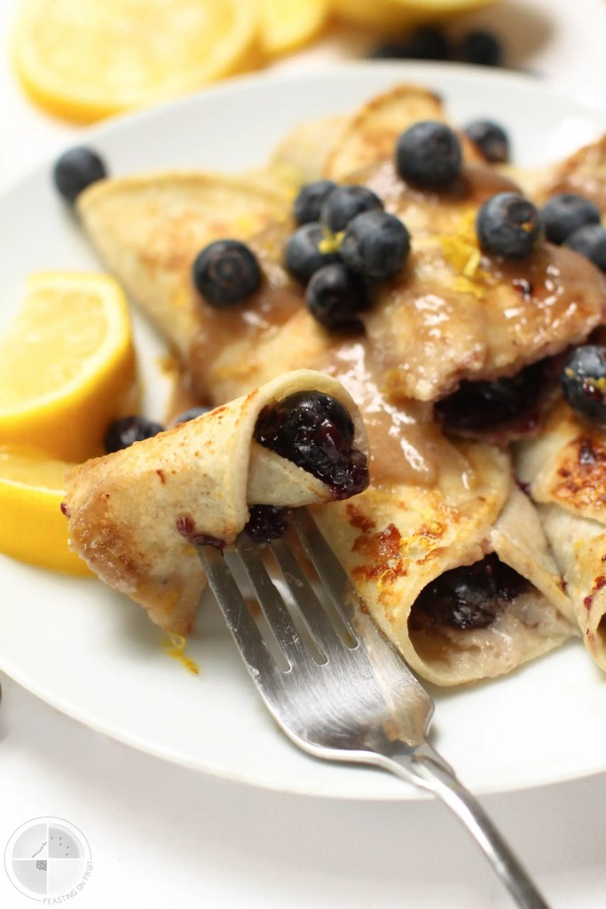 Lemon Blueberry French Toast Rolls