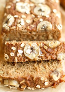 Sweet-Topped Banana Bread (GF + Oil-free)