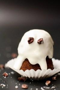 Dark Chocolate Coconut Ghosts + Healthy Halloween Treat Ideas