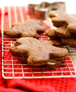Vegan Gluten-Free Gingerbread Men