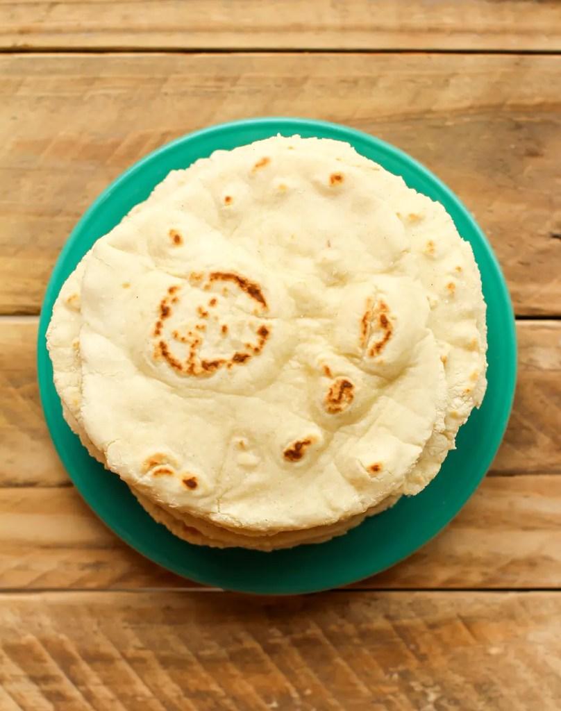 Vegan Gluten-Free Flatbread - FeastingonFruit.com