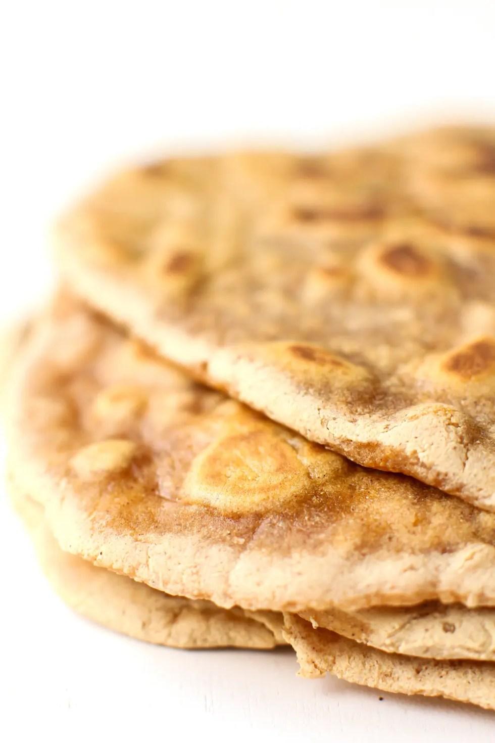 Gluten-Free Sweet Potato Flatbread