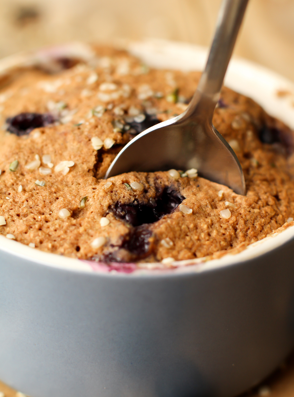 recipe: blueberry muffin in a mug [31]