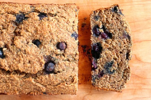 Wheat-Bran-Blueberry-Banana-Bread - The Conscientious Eater