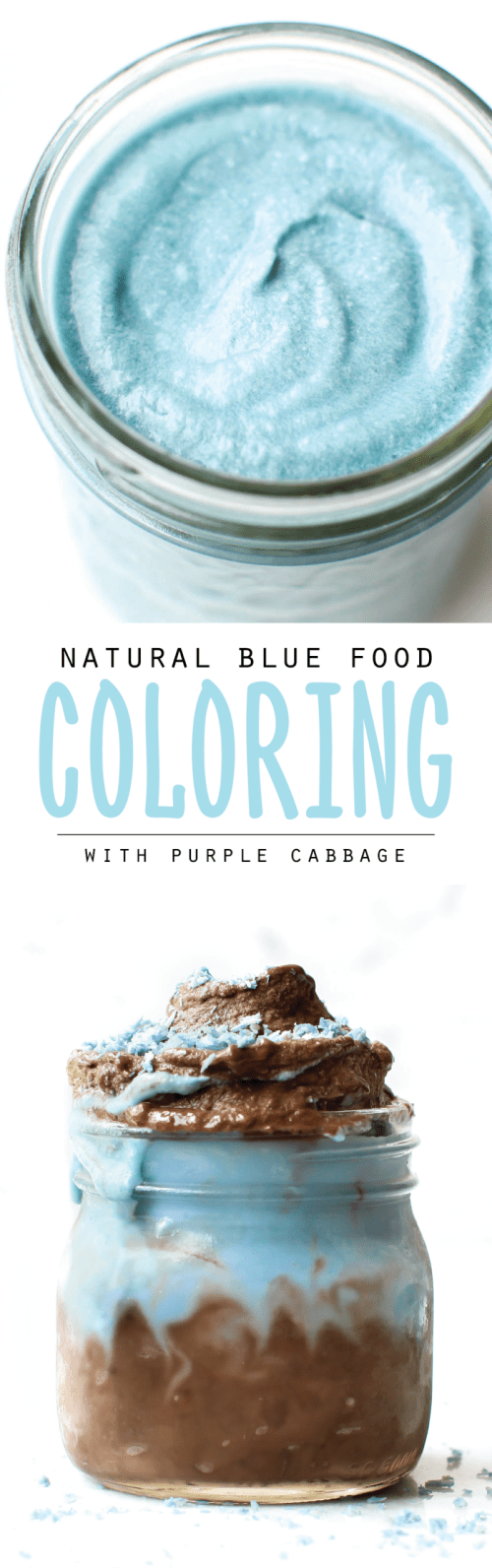Natural Blue Food Coloring with Red Cabbage {VIDEO}
