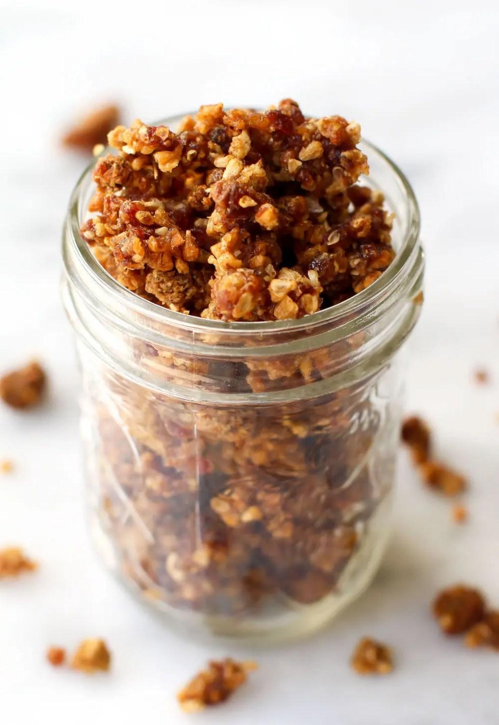 Grain Free Rawnola Recipe (2 ways!) | Vegan, Raw, Nut-Free