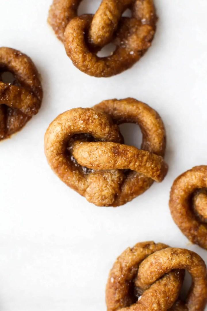 Gluten-Free Pretzel Sticks Recipe   Vegan & Oil-Free