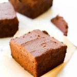 Low-Fat Fudgy Vegan Brownies