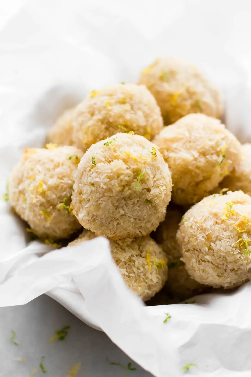 Lemon Lime Macaroons {vegan & oil-free}