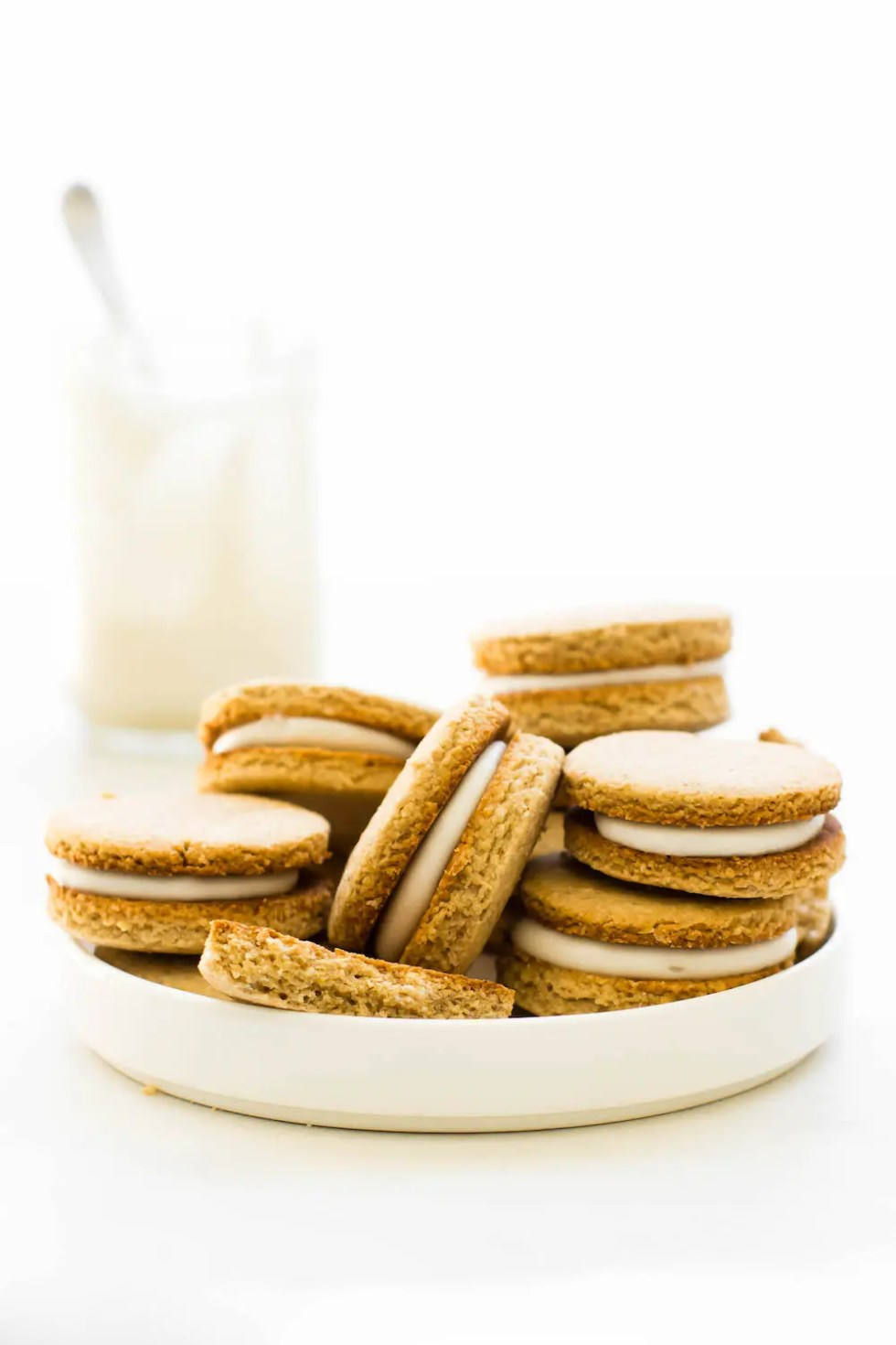 Golden Oreos {vegan, gluten-free, oil-free}