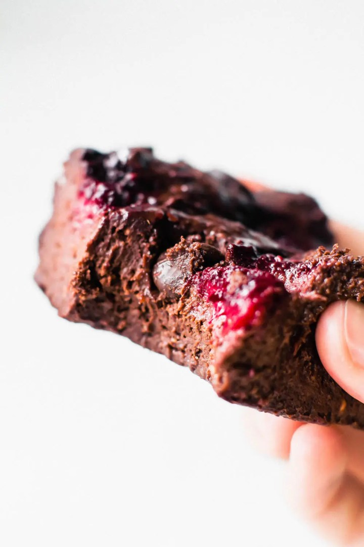Fudgy Raspberry Brownies