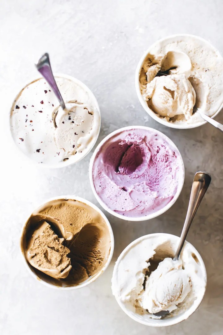 Ice Cream Sundae Brownie Cups