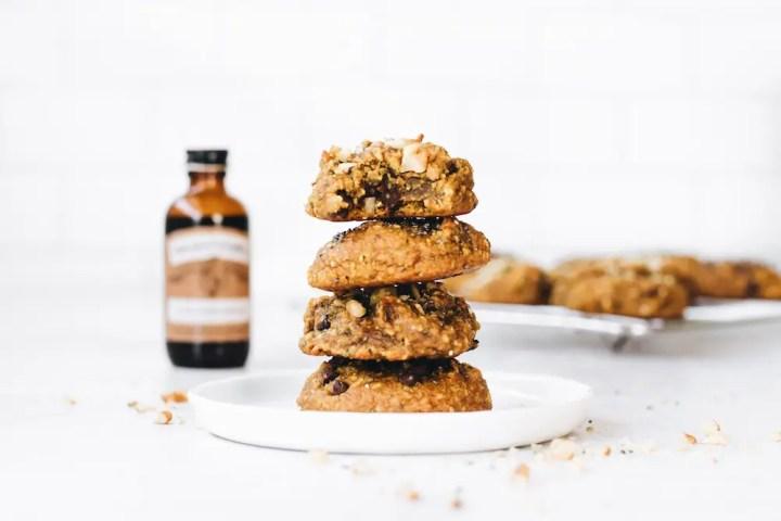 Turmeric Latte Breakfast Cookies