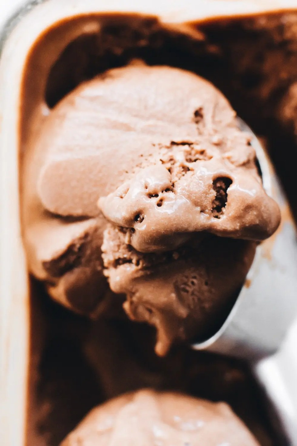 Favorite (Healthier) Vegan Chocolate Ice Cream