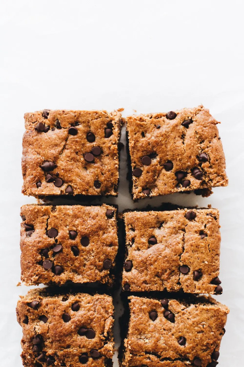 Chocolate Chip Hazelnut Blondies