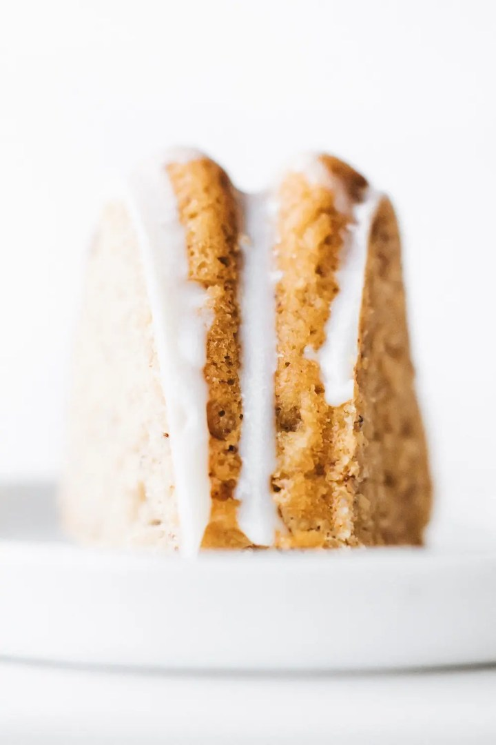 Lemon Yogurt Bundt Cake (Vegan + Gluten-Free)