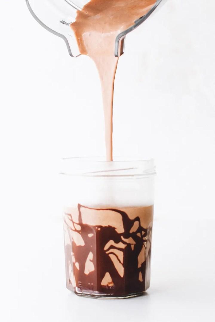 Chocolate Hazelnut Shake (or Frosty!)
