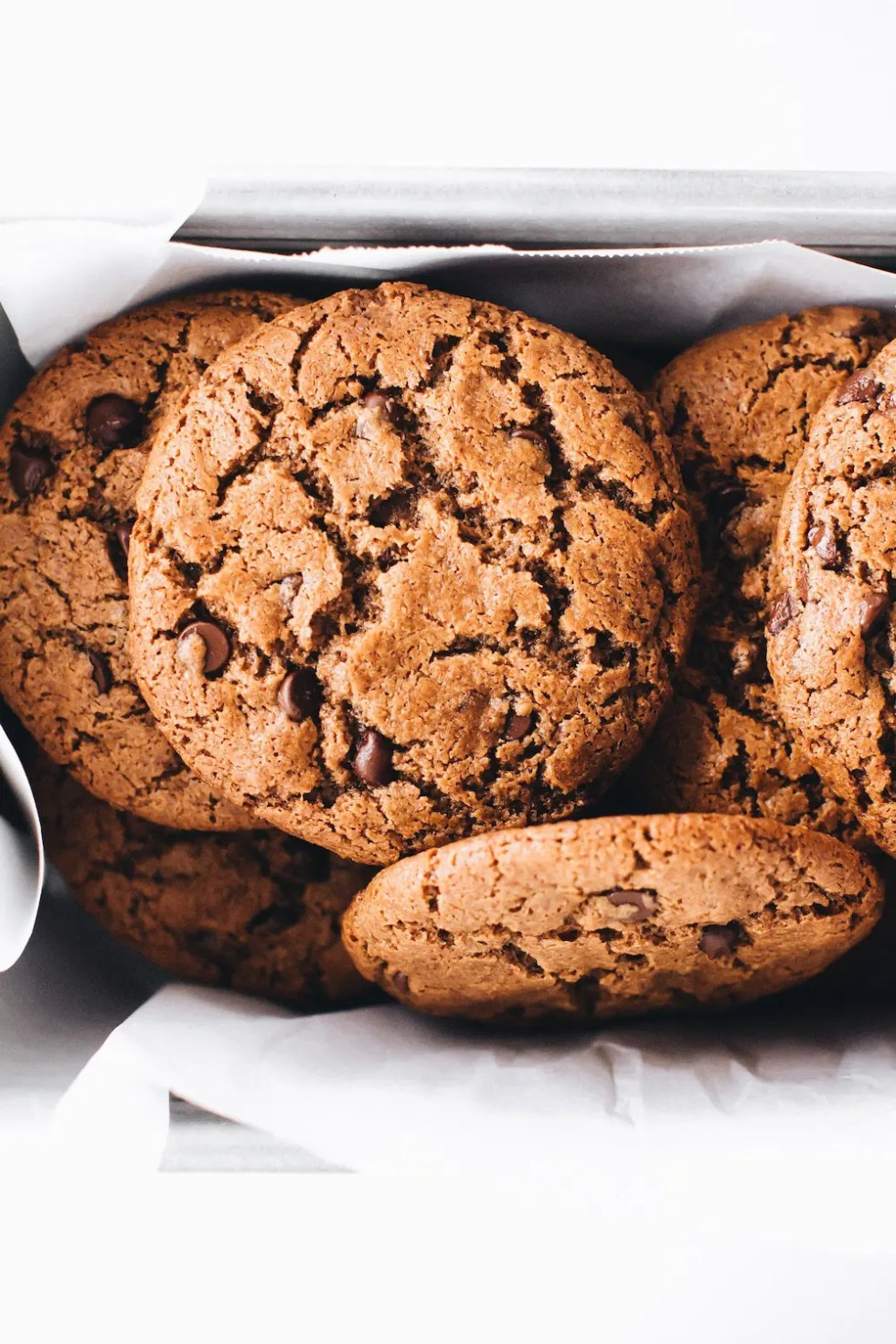 Crispy Chocolate Chip Cookies (Vegan + Paleo)