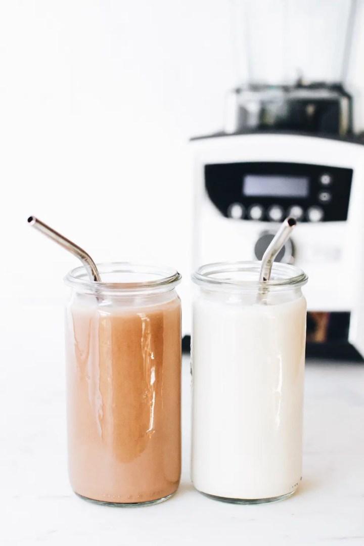 Homemade Almond Milk + Almond Pulp Granola