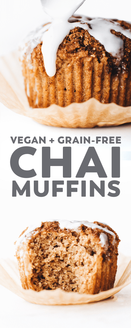 Vegan Chai Muffins