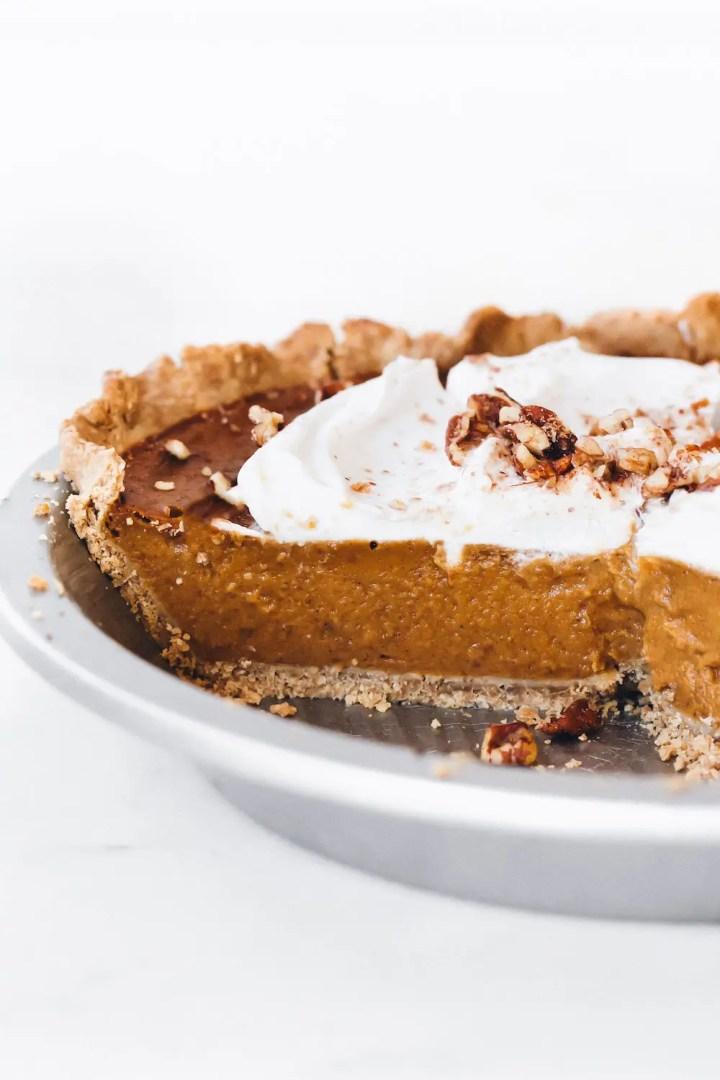 SunButter Pumpkin Pie