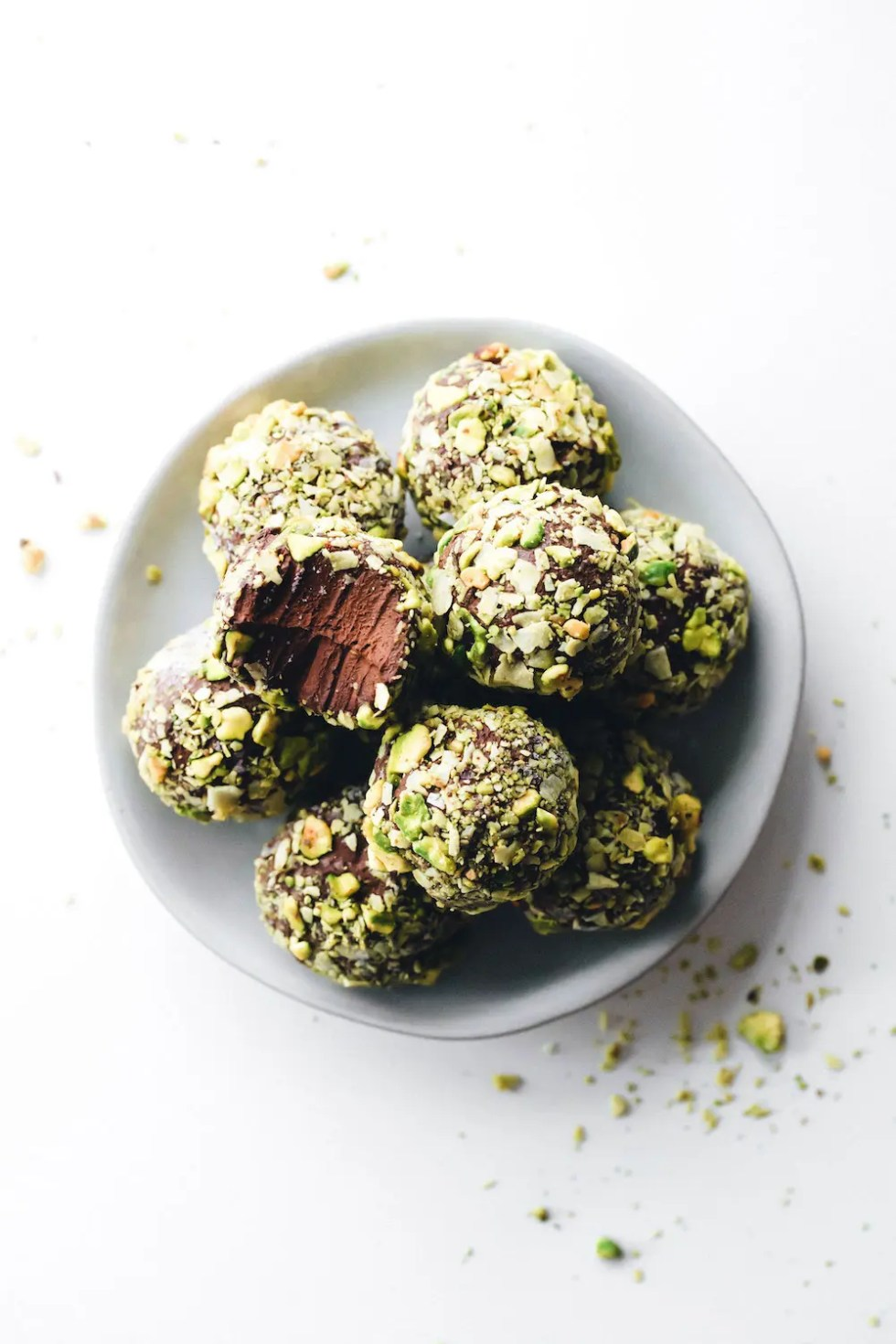 Chocolate Avocado Pudding Truffles