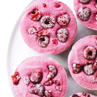 No-Bake Chocolate Raspberry Cheesecakes