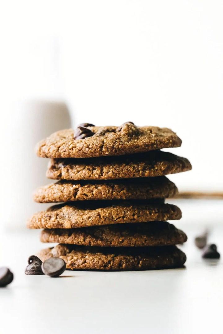 SunButter Chocolate Chip Cookies (vegan + paleo)