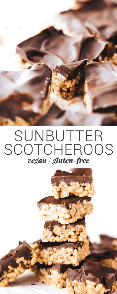 SunButter Scotcheroos