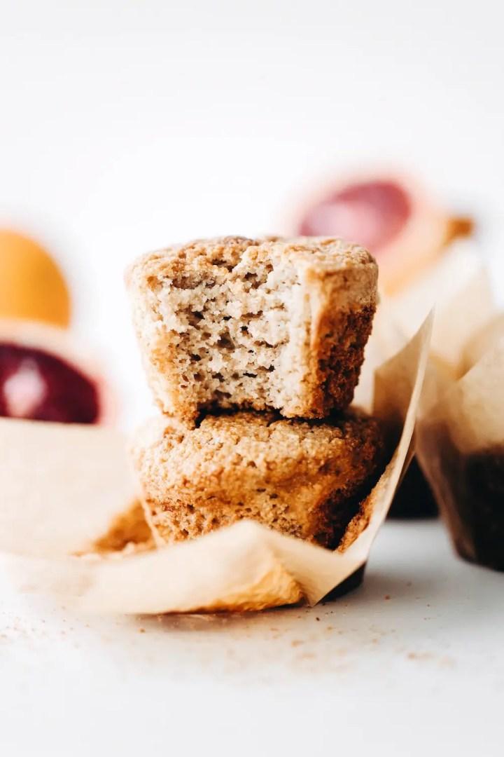 Blood Orange Muffins (vegan + gluten-free)