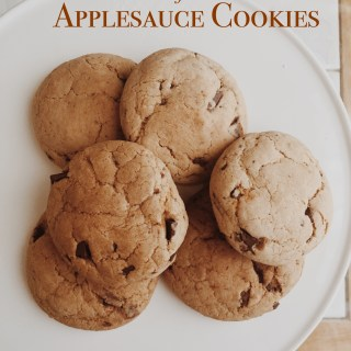 Recipe Inspired by AMC's The Walking Dead. Carol's Applesauce Chocolate Chip Cookies.