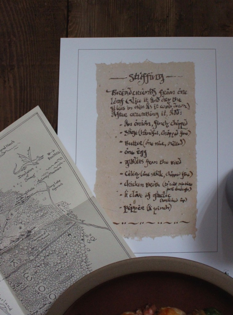 Weta's Recipes from Bag End: Bilbo Baggins's Stuffing Recipe