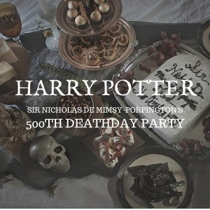 Harry Potter: Sir Nick's 500th Deathday Party Recipes