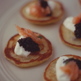 Caviar on Blinis, Recipes from American Horror Story