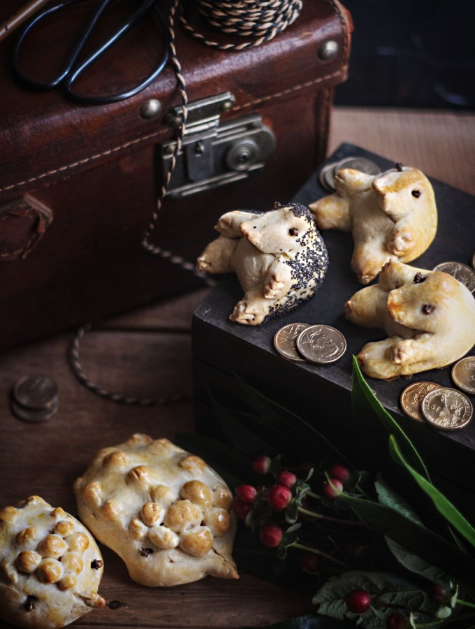 Fantastic Beasts and Where to Find Them- Kowalski's Niffler and Erumpent Bread Recipe