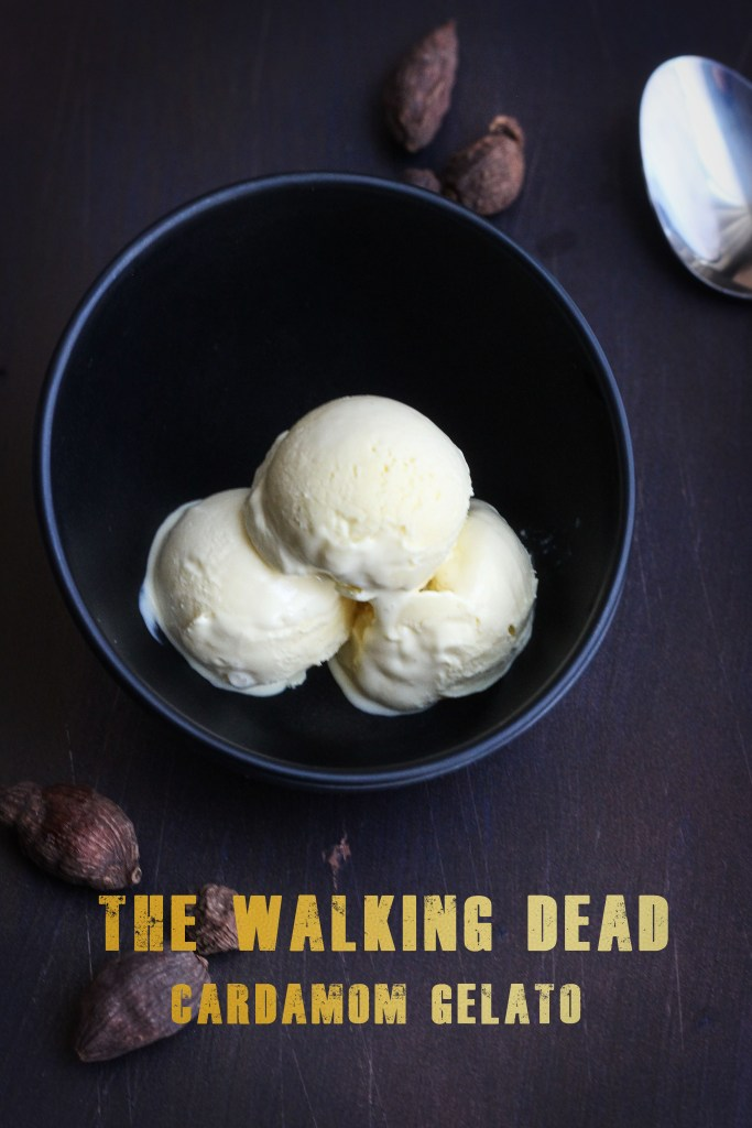 The Walking Dead Cardamom Gelato Recipe