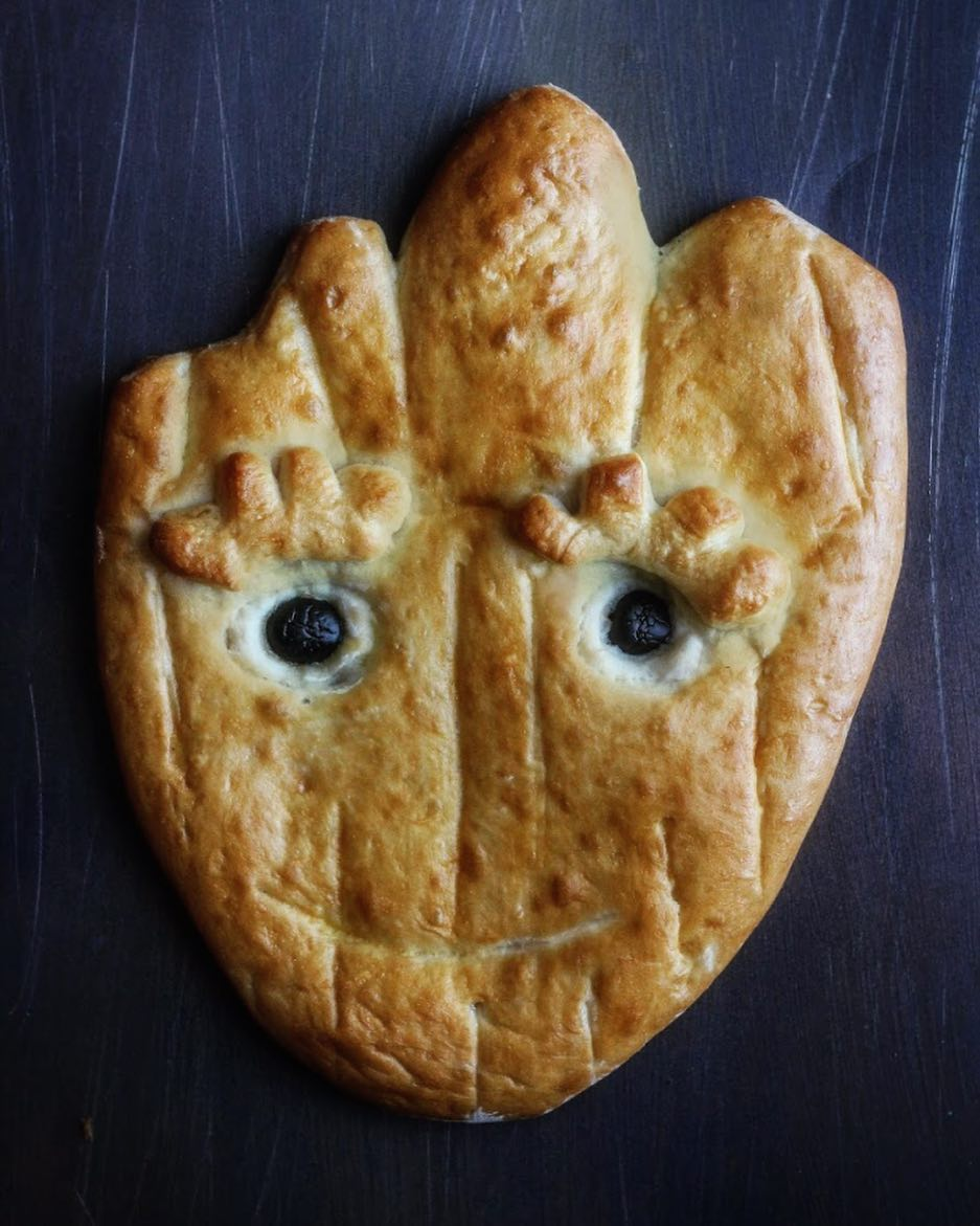 I AM GROOT Groot bread inspired by DCAs Guardians ofhellip