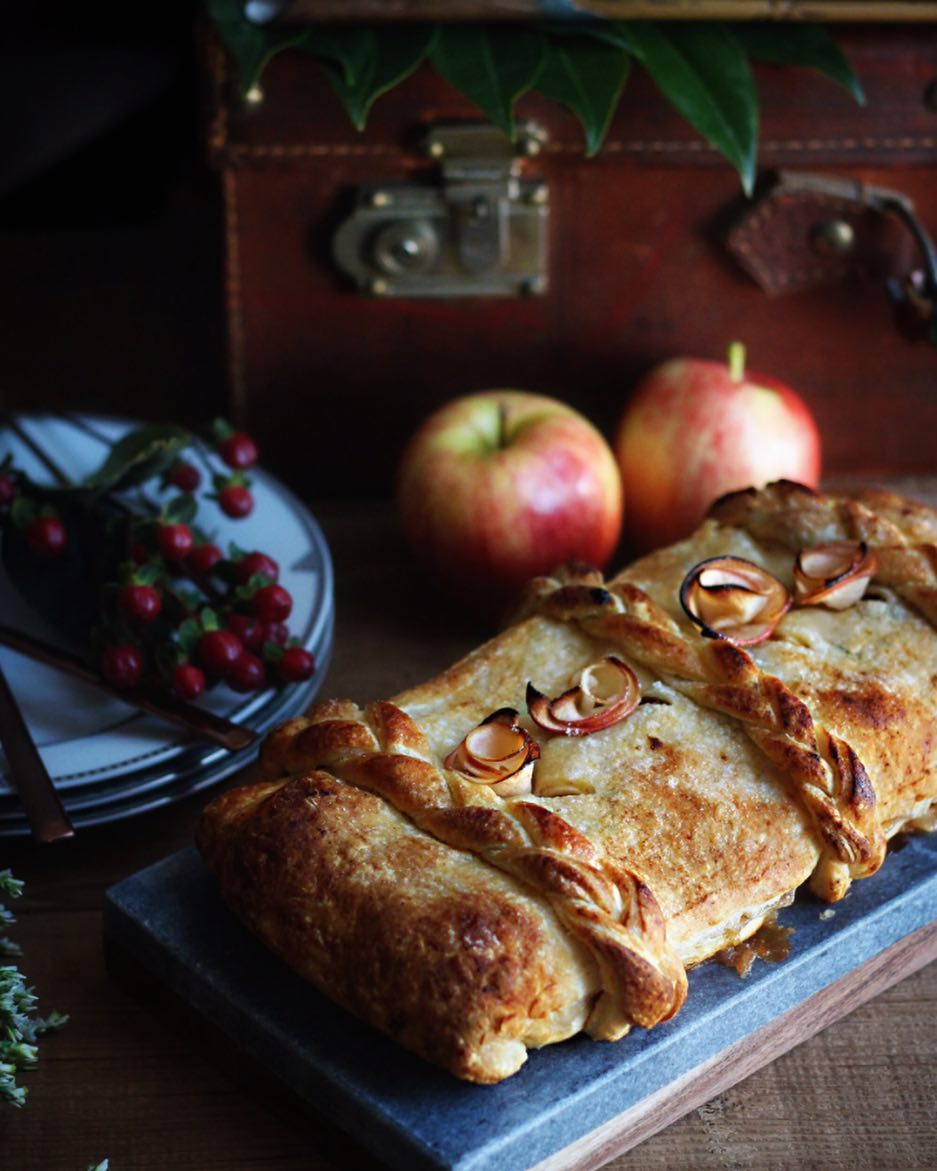 Had no idea it was applestrudelday today! Thank you sophierobbhellip