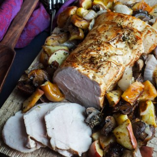 Game of Thrones: Roast Pork with Mushrooms and Apples