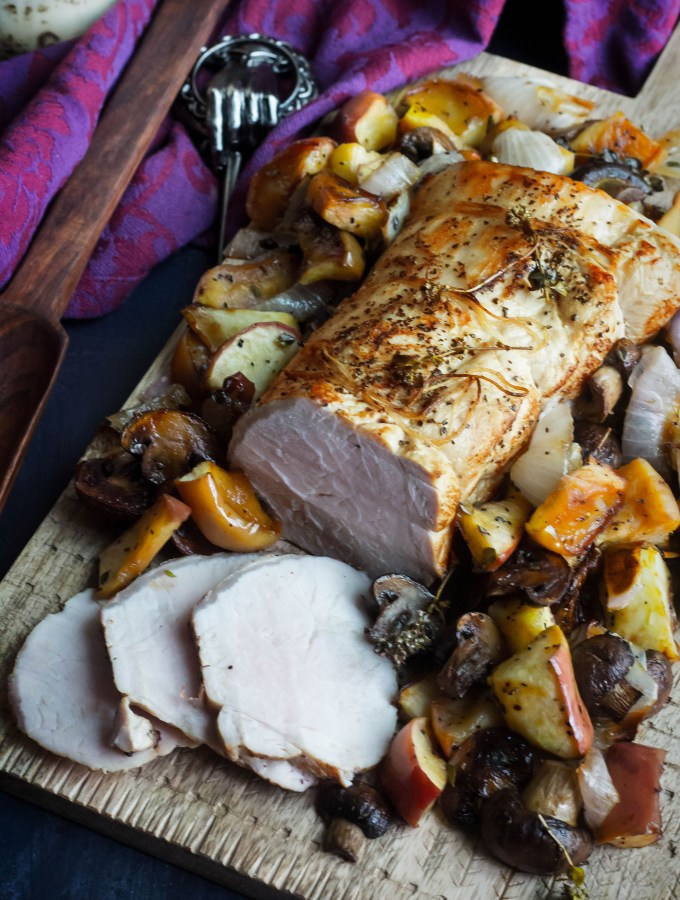 Game of Thrones: Roast Pork with Mushrooms and Apples Recipe