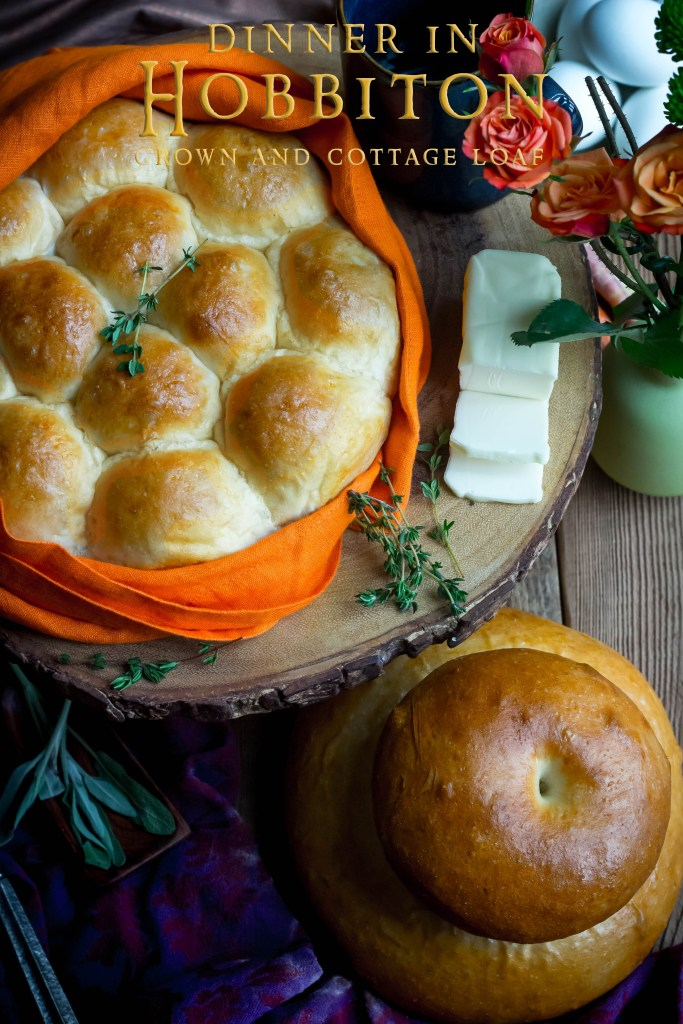 Crown and Cottage Loaf recipe - Feast for a Hobbit