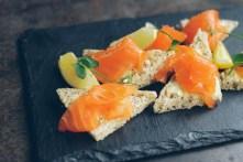 Traditional Smoked Salmon Plate